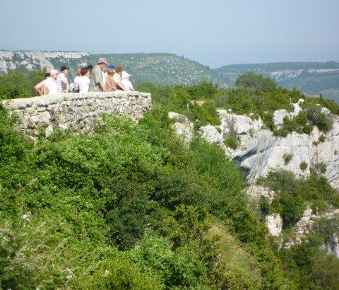 Lecture de paysage Navacelles
