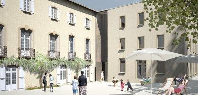Nouvelle façade musée de Lodève