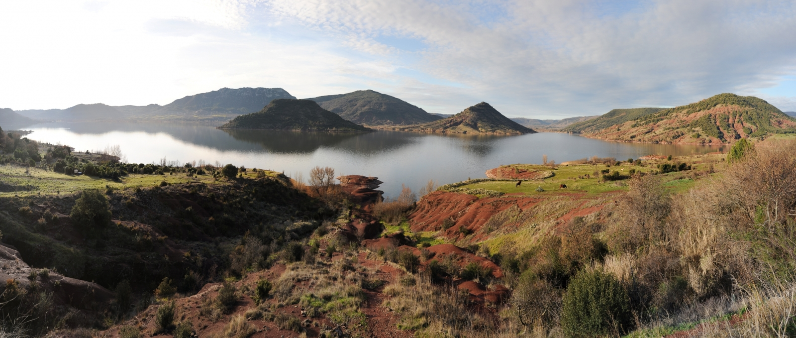 Das Salagou-Tal