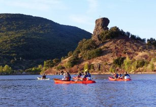 Slag aventures canoe salagou